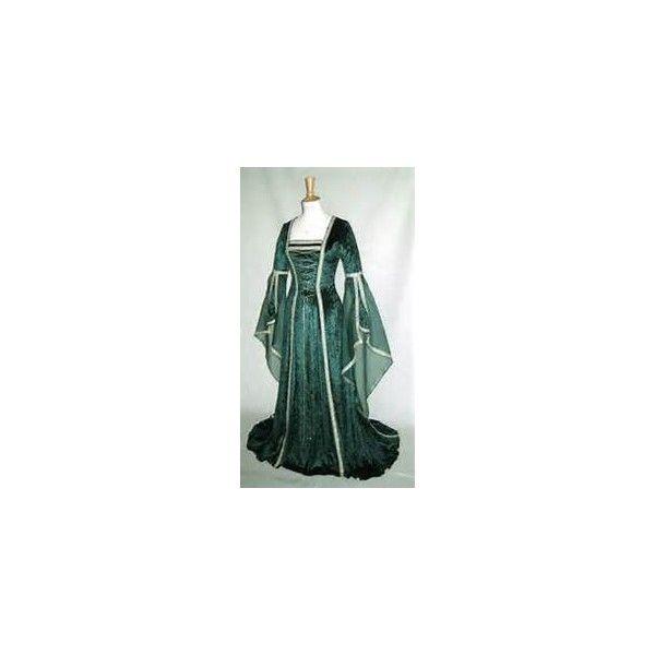 Medieval Wedding Dresses Pt. 2 Bridal Fashion Canada found on Polyvore featuring women's fashion, dresses and wedding dresses
