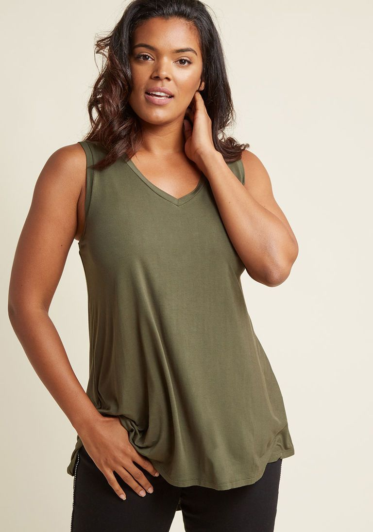 fbf4f46f71c6c4 Endless Possibilities Top in Olive - OLD
