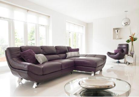 3 Seater Corner Chaise Sofa Dali Sofa Sets Sofas Free Delivery Furniture Village Small Living Room Decor Furniture Purple Corner Sofas