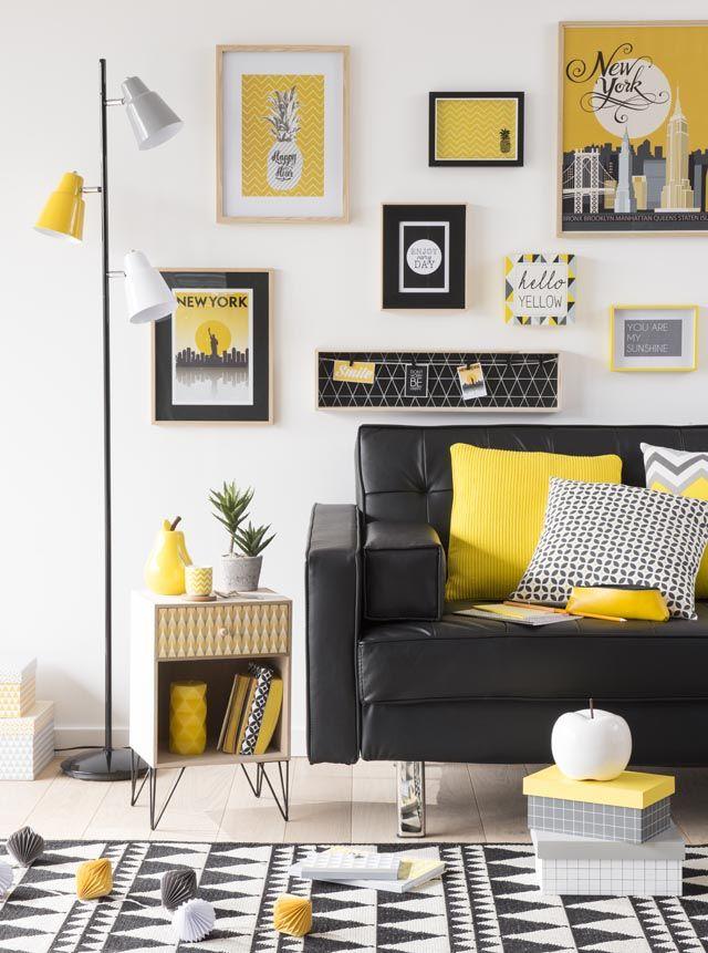 Épinglé par KenisaHome sur Color 2017: Yellow en 2019 | Deco jaune ...
