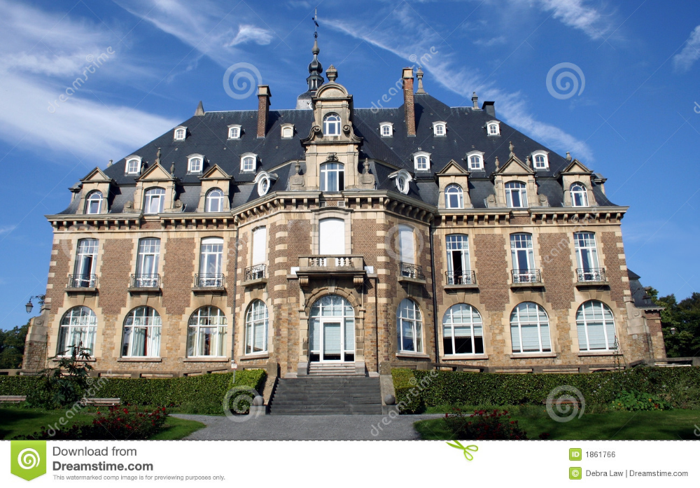 België Namen Chateau Stock Foto. Afbeelding Bestaande Uit