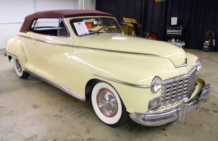 1948 Dodge Custom Six Convertible