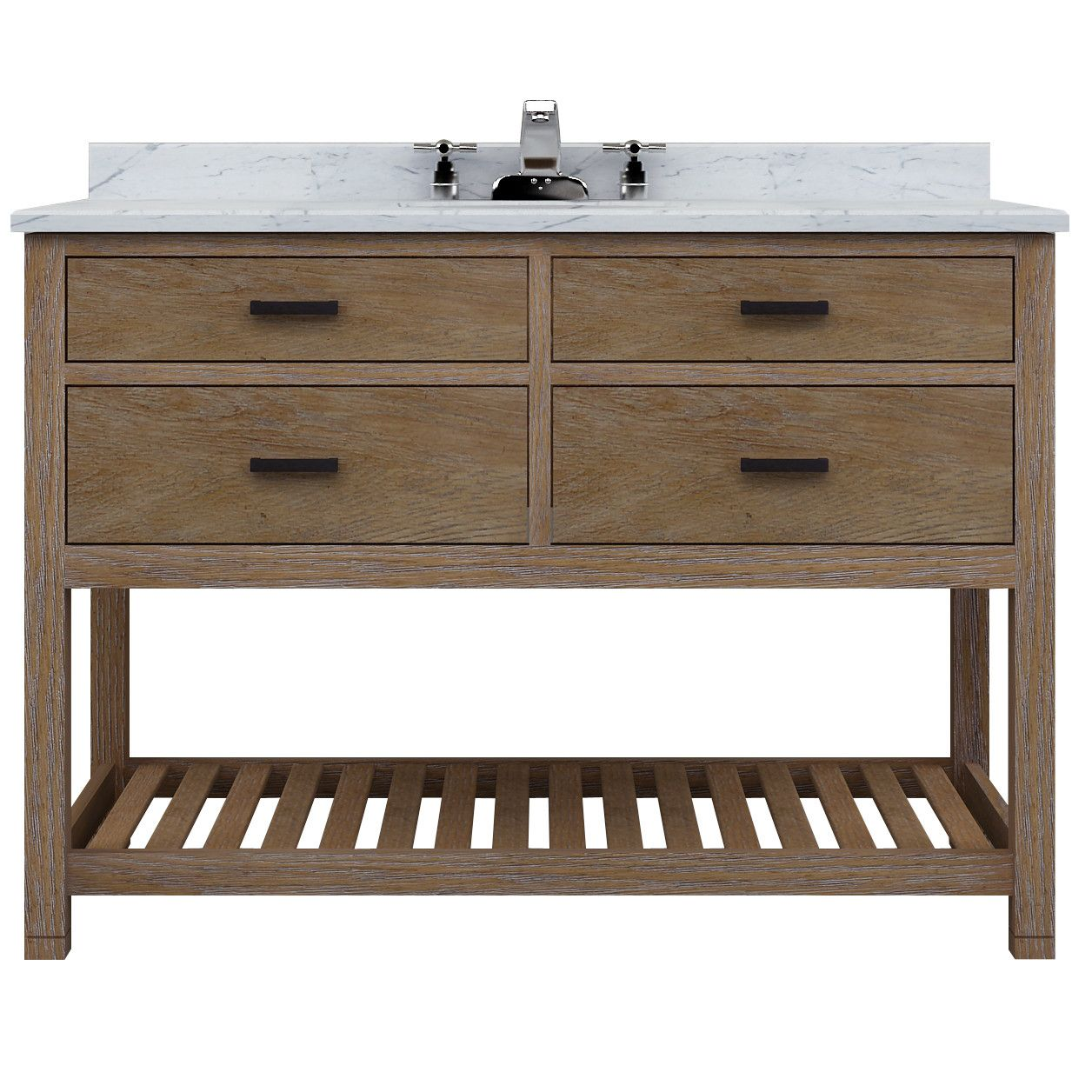 Darby Home Co Griffithville Single 48 Vanity Base Only Bathroom