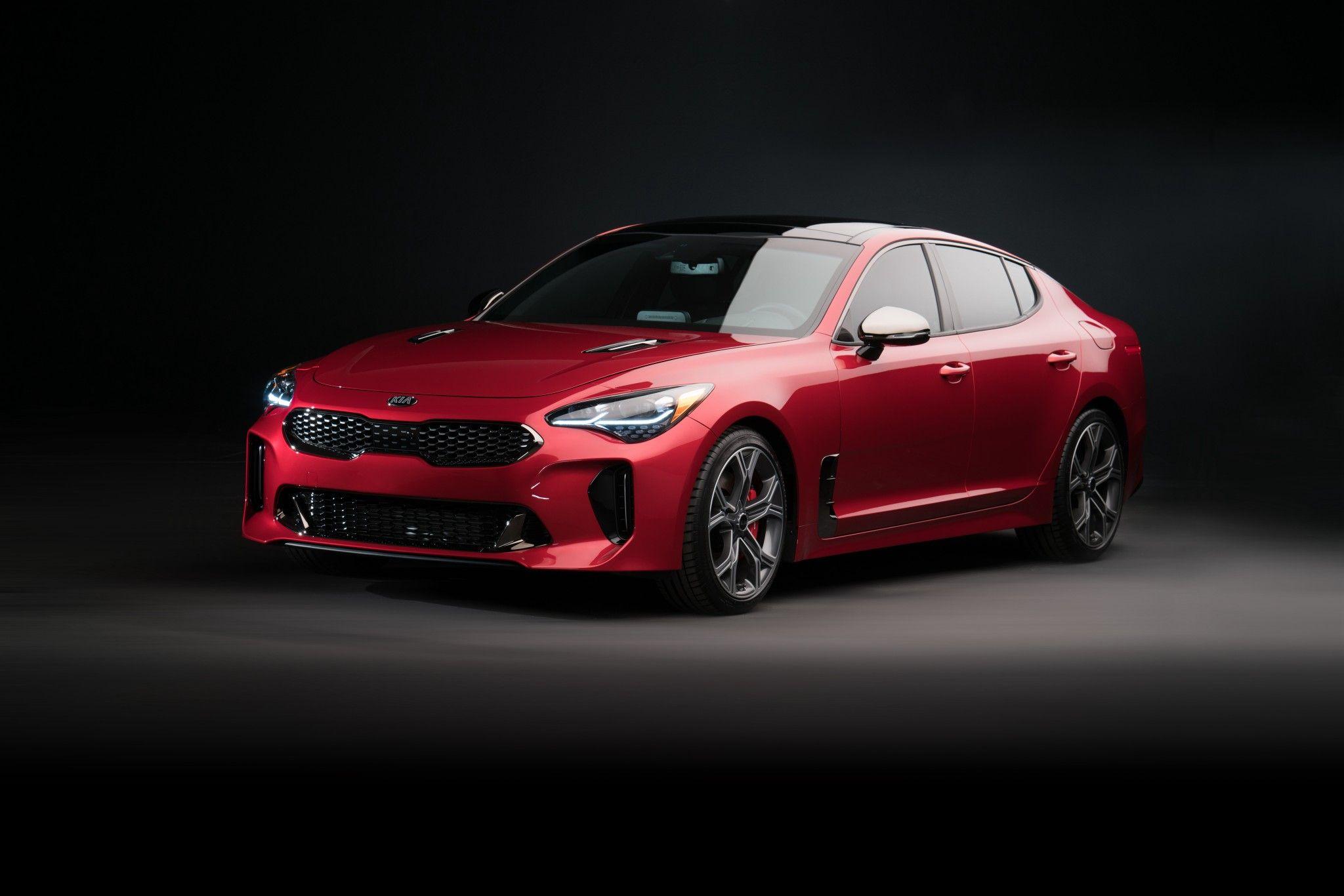 2018 Kia Stinger Gt 4k Hd Autos
