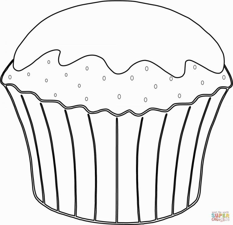 Coloring Page Basketball Food Coloring Pages Cupcake Coloring