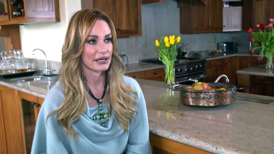 The Real Housewives of Beverly Hills star Taylor Armstrong opens up about her abusive marriage.