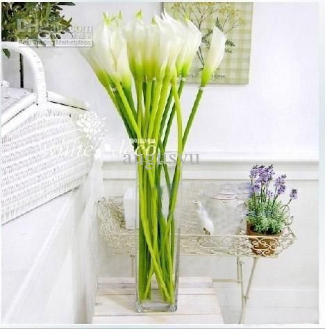 2018 56cm Artificial Calla Lily Wedding Home Party Decoration Supplies From  Angusyu, $30.26 | Dhgate.Com