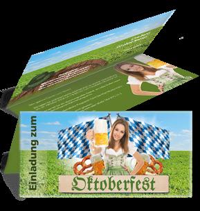 Günstig Bedruckte Oktoberfest Einladungskarten. #oktoberfest # Einladungskarte #einladungskartedesign