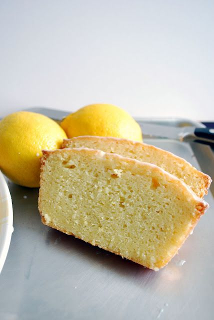 Lemon Cake.  Dadda LOVES lemon cake :)