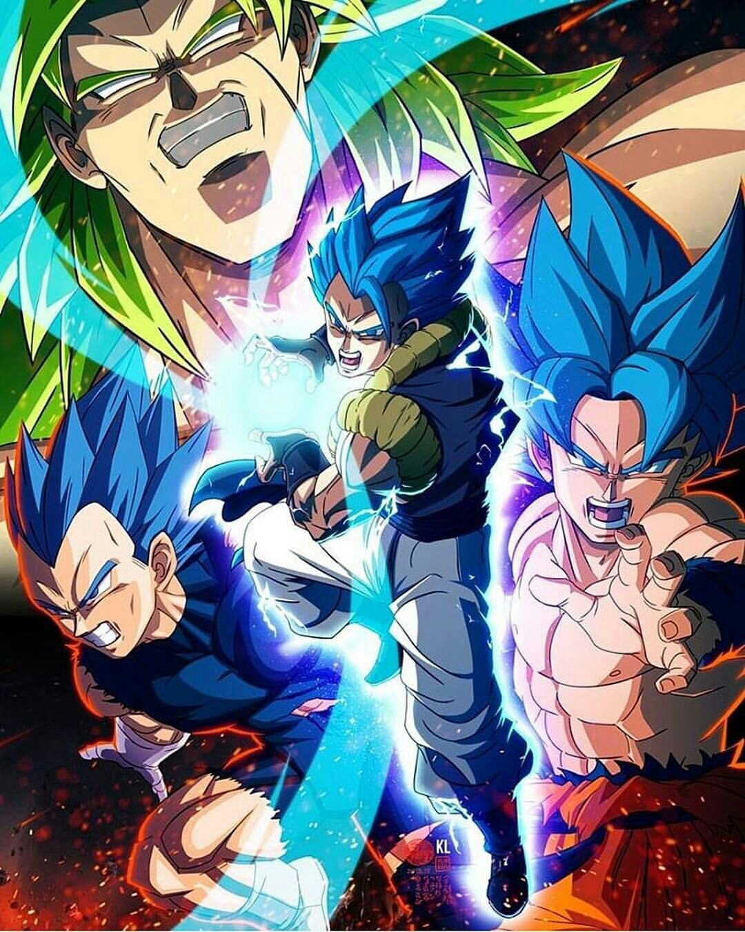 Dragon Ball Broly Full Movie: Gogeta Broly Movie 2018 Render DB Legends By Maxiuchiha22