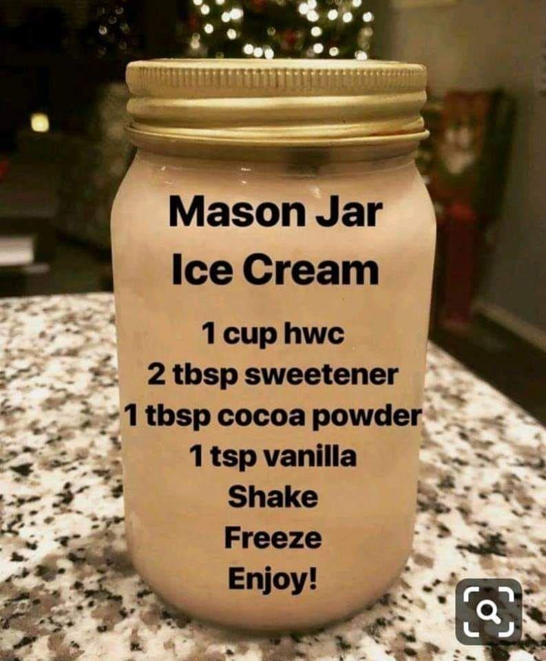 mason jar ice cream ketorecipes keto ice cream keto keto diet recipes on hebbar s kitchen recipes videos ice cream id=38155