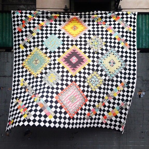 Wonderland Quilt by Brooklyn Quilting Co.  www.brooklynquiltingco.com