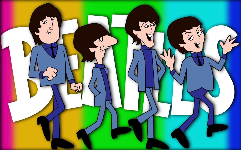 The Beatles Tv Cartoon Show Beatles Cartoon Cartoon Shows Happy Birthday Beatles