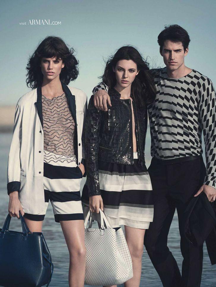 First Look: Emporio Armani Spring/Summer 2015 Campaign