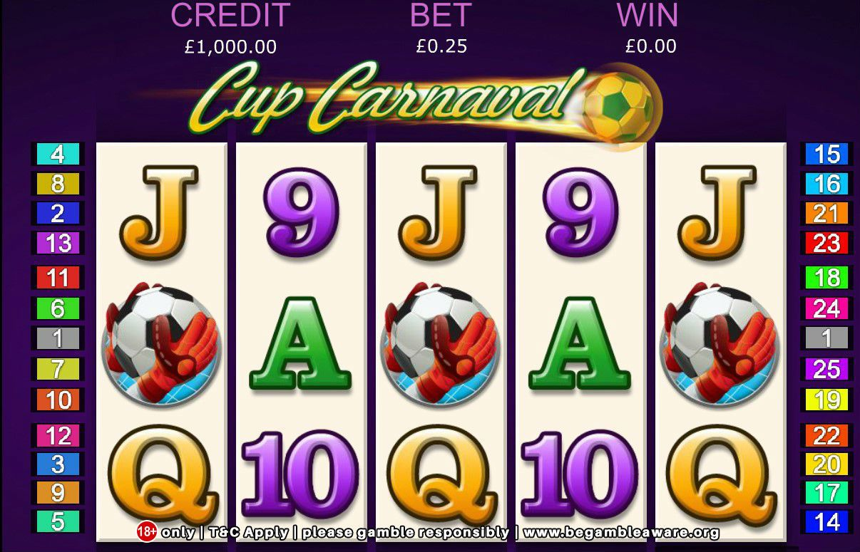 Cup Carnaval Slot Machine