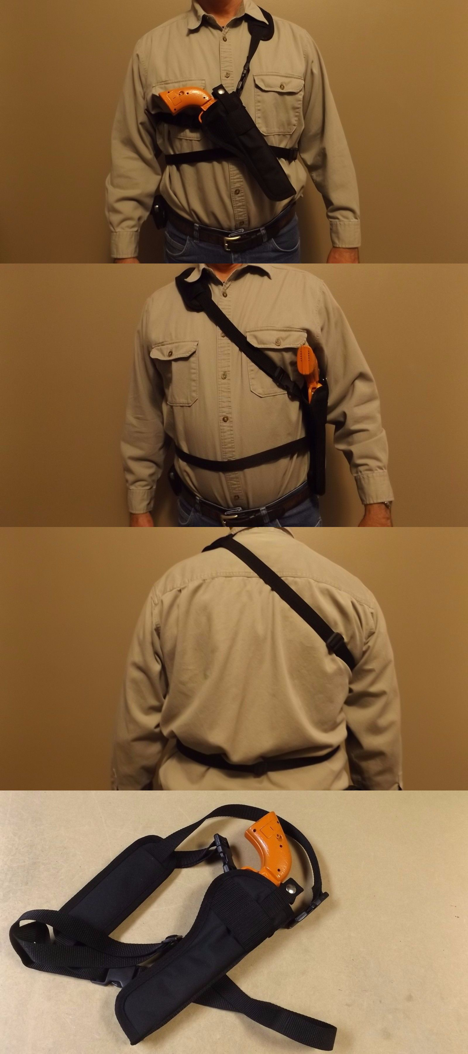 "Shoulder CHEST Holster TAURUS RAGING JUDGE 6-1//2/"" Barrel Right Hand Bandoleer"