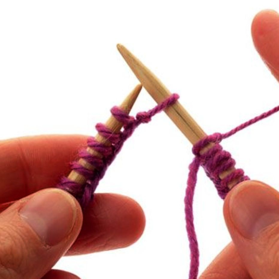 Knitting core class 5 days have fun learning the
