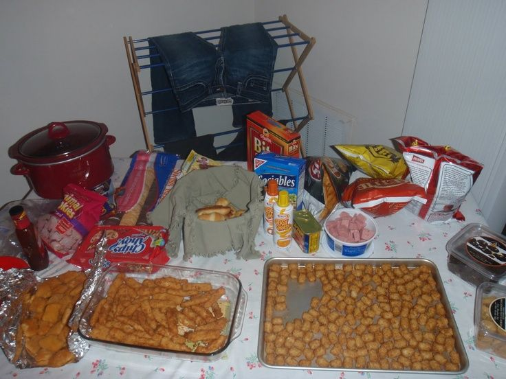 White Trash Christmas Party Ideas Part - 35: White Trashed Themed Party Foods Great Ideas To Get Your Mullet, Missing  Teeth Friends Over!