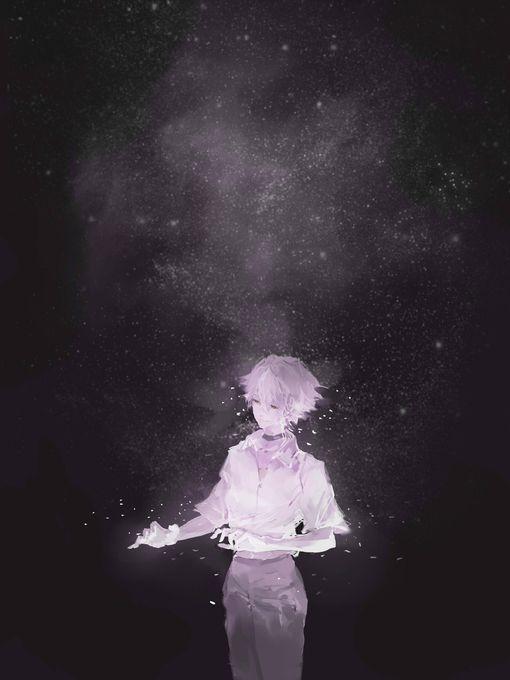 Neon Genesis Evangelion Kaworu Nagisa