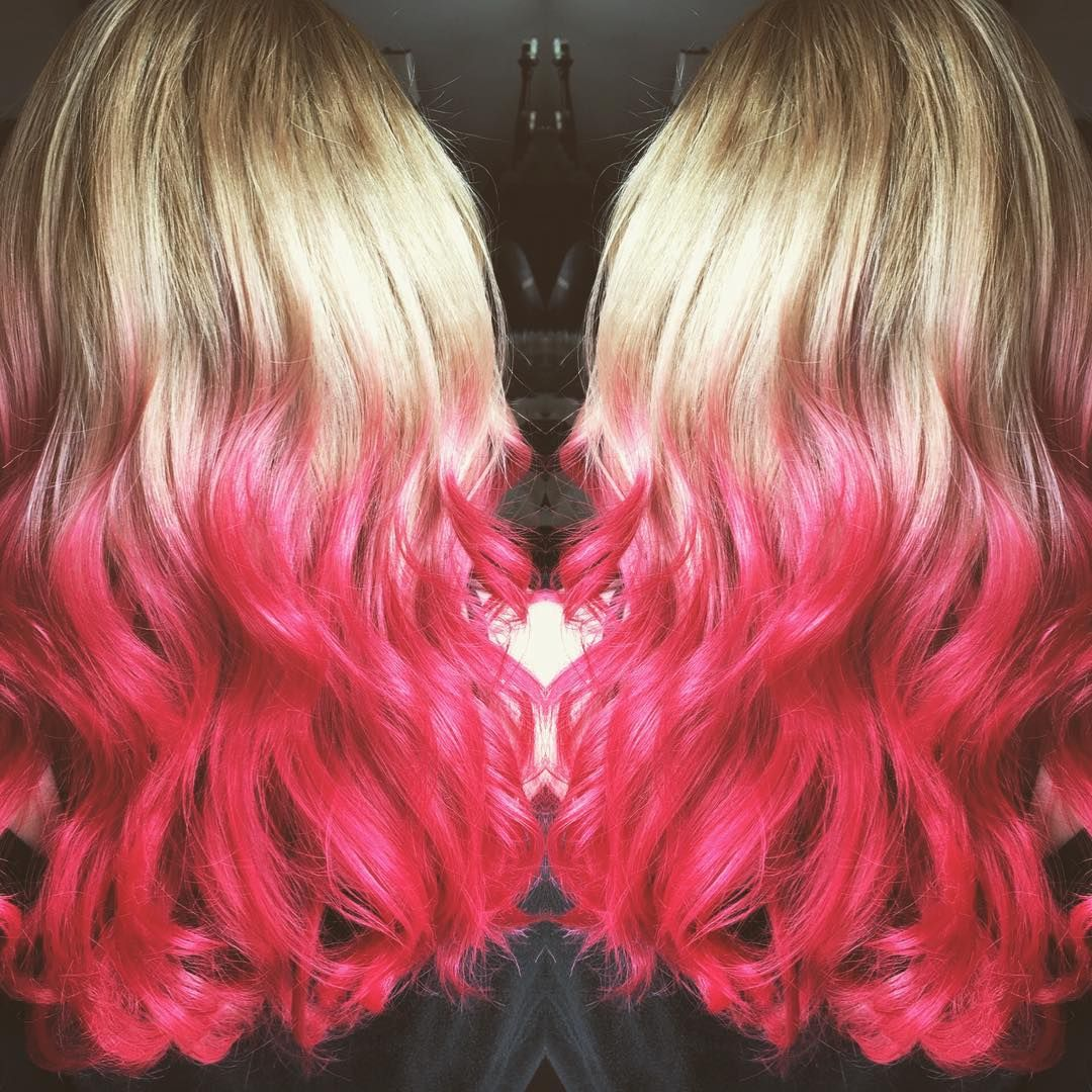 Pretty Pink Throwback To My Favorite Color Job To Date