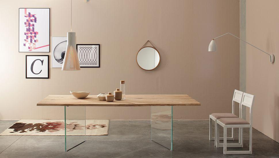 Tavoli in legno massiccio personalizzabili - Devina Nais | wood ...