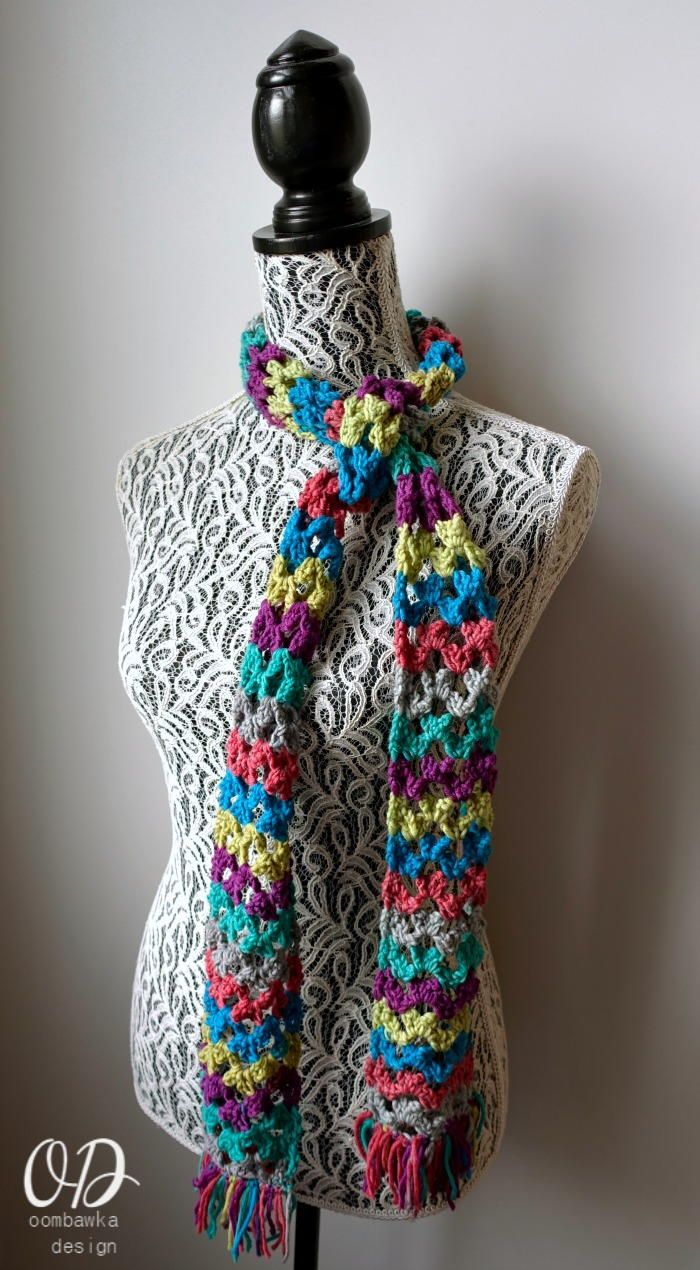 Butterflies and Rainbows Scarf