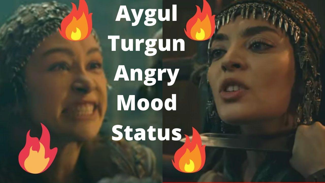 Aigul Hatun Turgun Hatun Angry Mood Status | Short Video Whatsapp Status