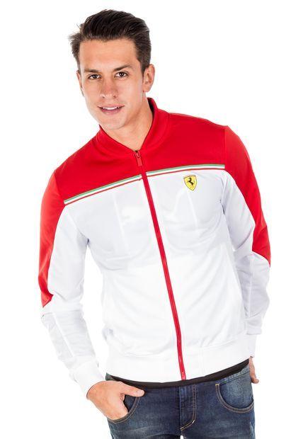 comprar mejor elegante en estilo bajo costo Chaqueta Puma Ferrari Blanco-Rojo | jd | Chaquetas, Ropa ...
