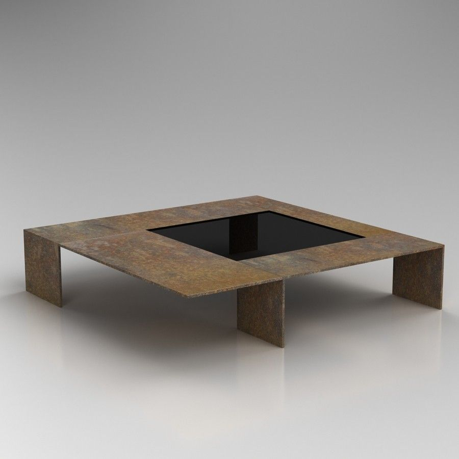 Okha Mondo Coffee Table Coffee Table 3d Table Coffee Table 3d
