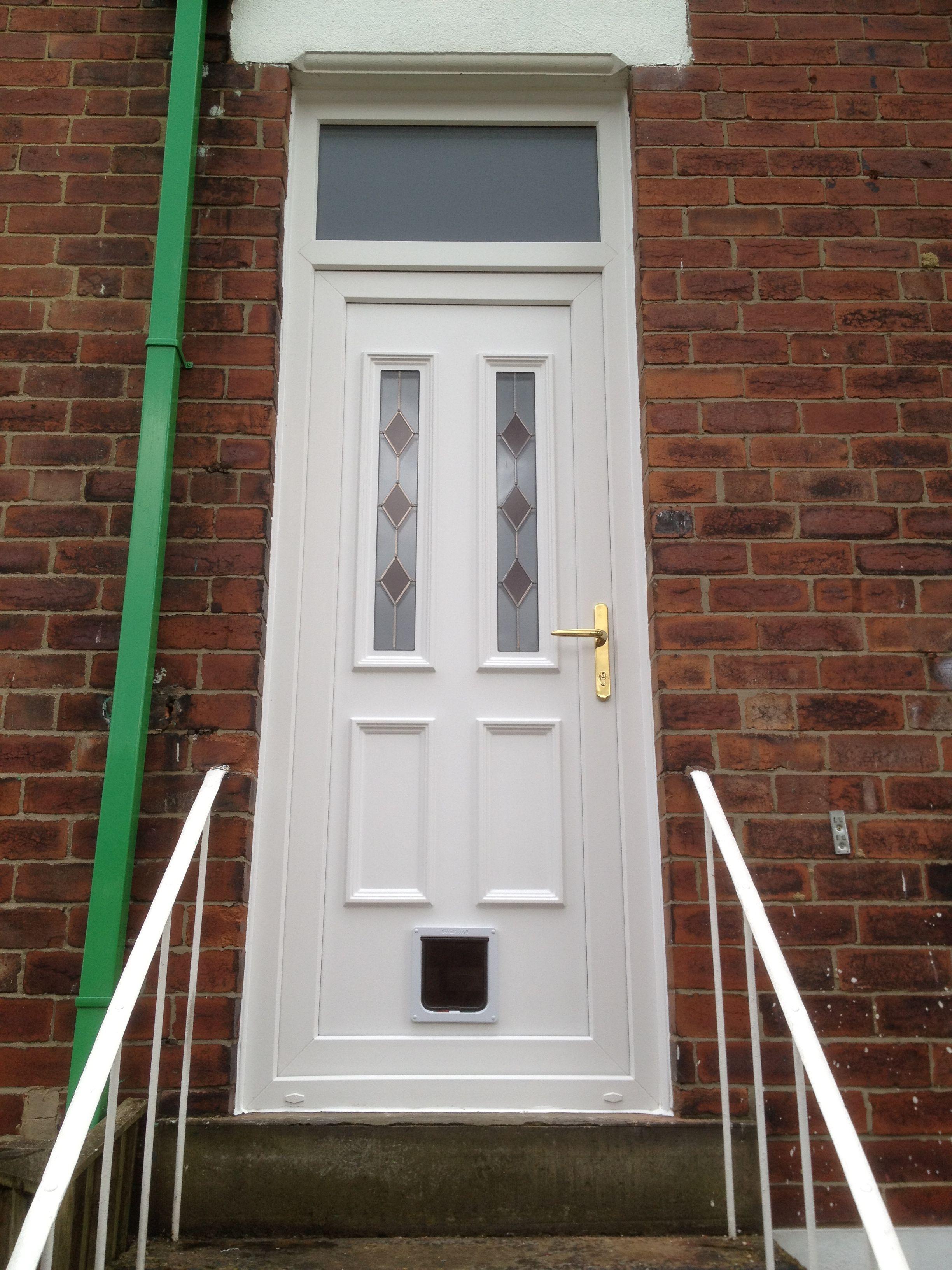 Upvc Door With Red Diamonds Doors Upvc French Doors Upvc