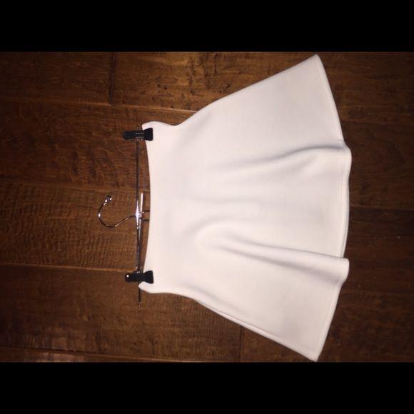 Skater Skirt - American apparel Size small American apparel skater skirt in white American Apparel Skirts Circle & Skater