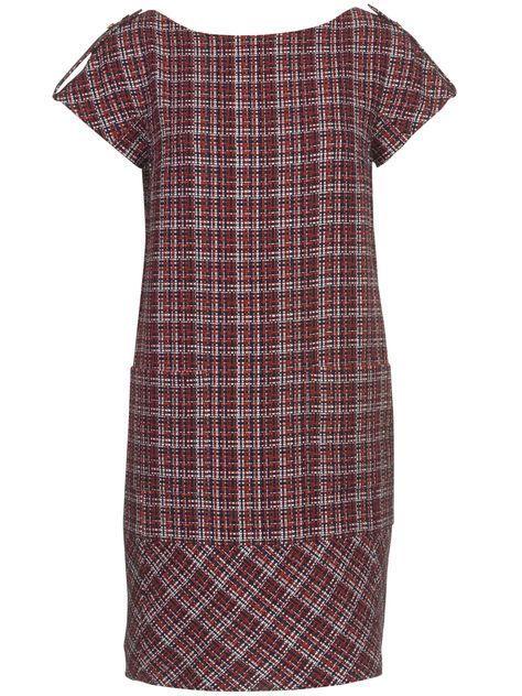 Weites Kleid  - breite Saumblende  | Mode zum Selbernähen im burda style Onlineshop. #schnittmusterzumkleidernähen Schnittmuster Weites Kleid - breite Saumblende 02/2011 #119