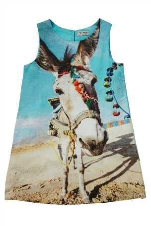 5cbbe5e604a3 Donkey Print Dress | f o r t h e l i t t l e s | Kids outfits, Kids ...