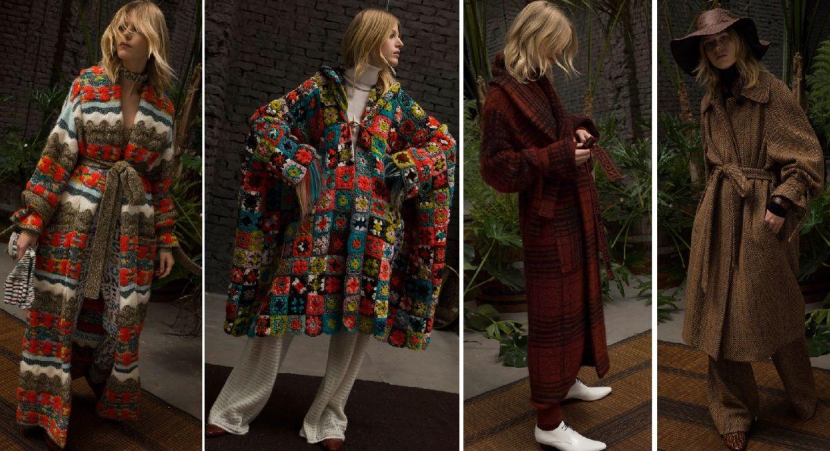 трикотажные осенние пальто от Missoni в 2019 г.   Зима ...