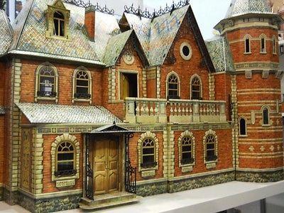 Victorian DOLL HOUSE №1+ №2+ №3 Full Set! DIY Dollhouse Miniature Scale 1:12 Kit