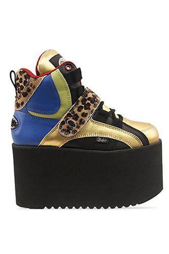 Shop 90s Platform Sneakers on Wanelo