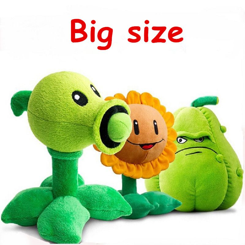 "Plants vs Zombies Squash 5/"" Plush Toy"