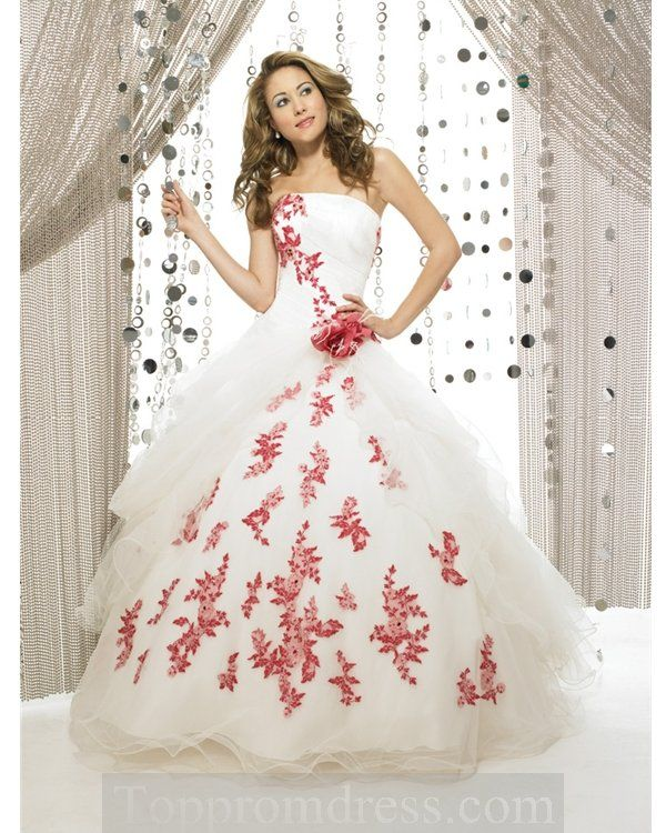 beautiful I love it!!   Wish list   Pinterest   Red ball gowns and ...