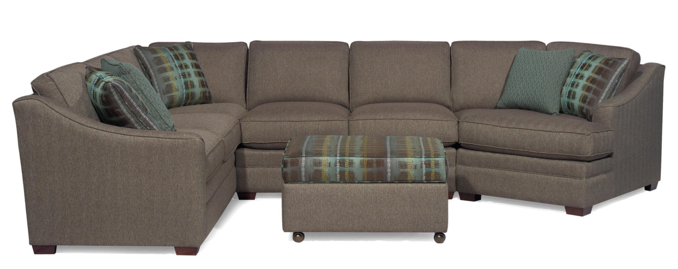 Craftmaster Sectional (F9431 Sect)... We Saw This At Scheels Tonight And  Loved It. Will Have To Remember This For The Basement.