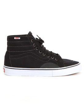Men's Shoes | Vans AV Classic High (Herringbone) Shoe in Black/White @