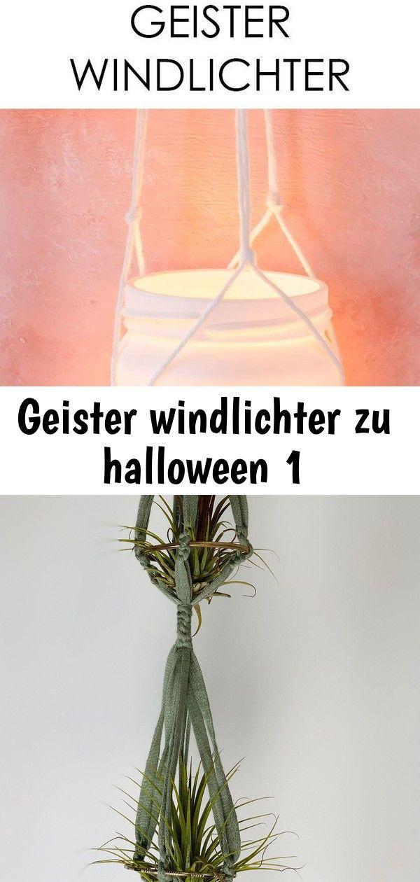 Geister windlichter zu halloween 1 #geisterbasteln