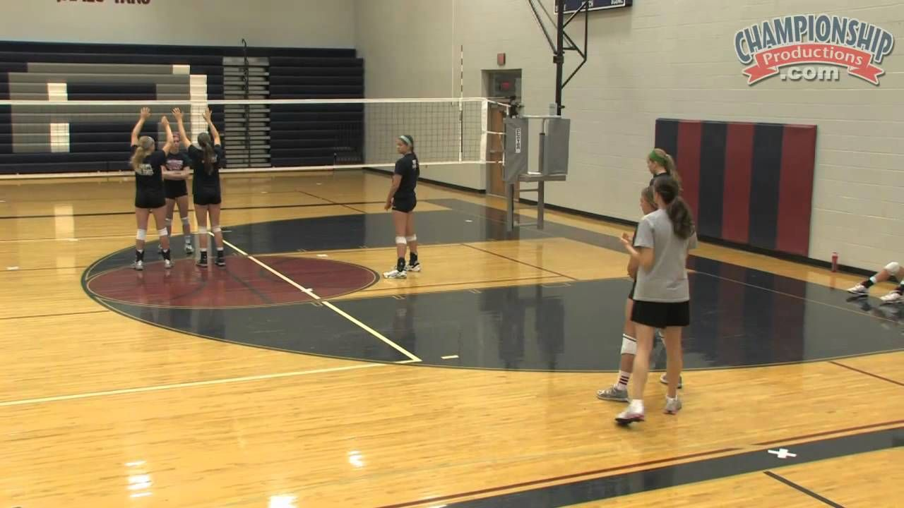 High School Volleyball Systems Rotational Defense With Nancy Dorsey Coaching Volleyball