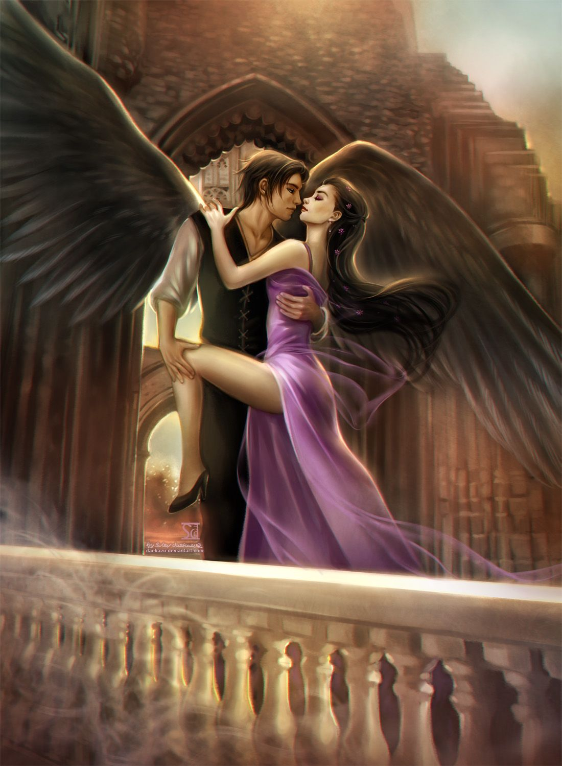 Dance With The Angel By Daekazu Deviantart Com On
