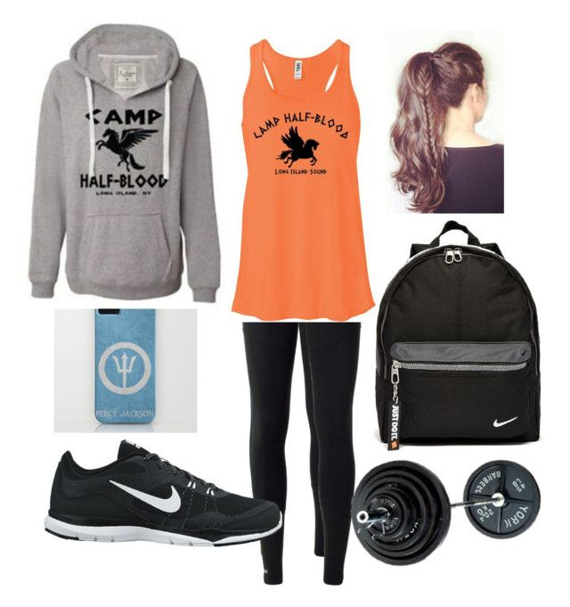 """""""Time For a """"Dam"""" Workout"""" by kelsieknebl ❤ liked on Polyvore featuring adidas and NIKE"""
