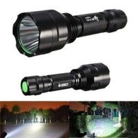 T6 XML LED Flashlight Torch 12000LM Waterproof 5Modes For Long-term Brightening