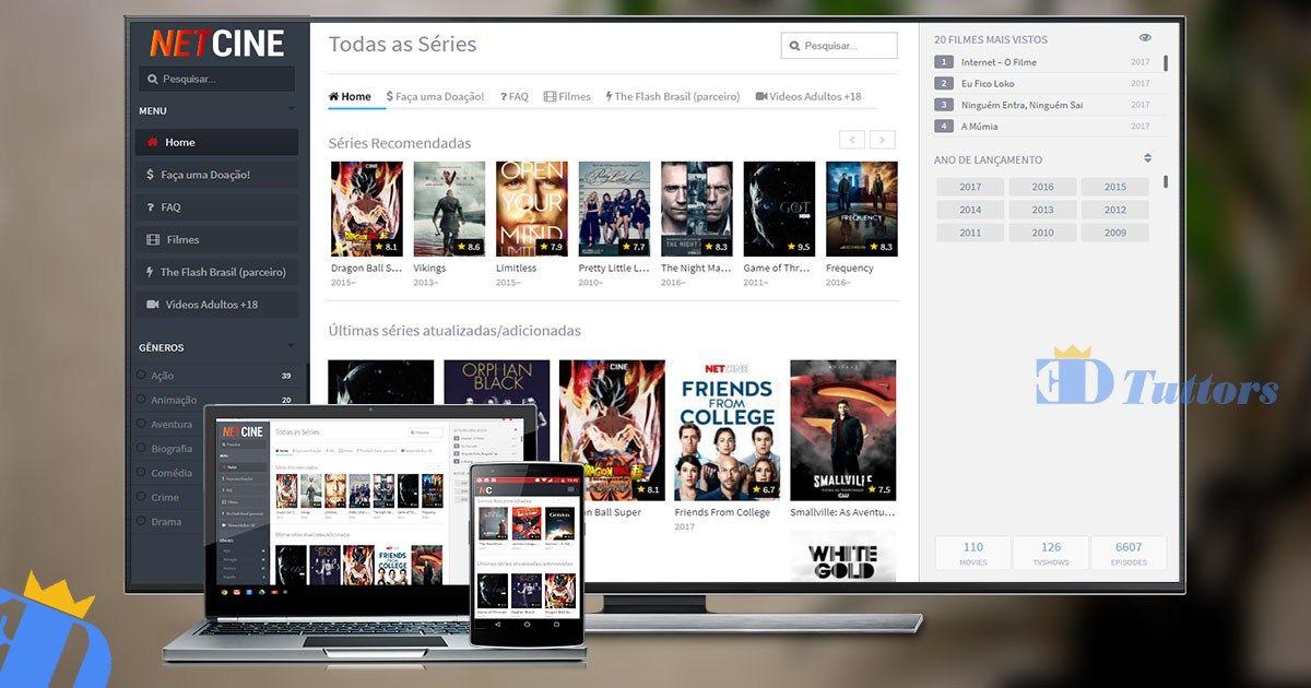 Netcine Aplicativo Para Assistir Filmes E Series No Celular Pc