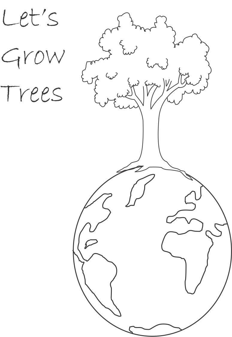 Environmental coloring activities - Growing And Planting Coloring Page Google Search