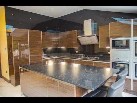 Glass Cladding For Kitchen Walls Installation By Creoglass London