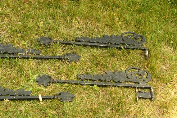 Antique Drapery Rods Swing Out Draperycurtain Rods
