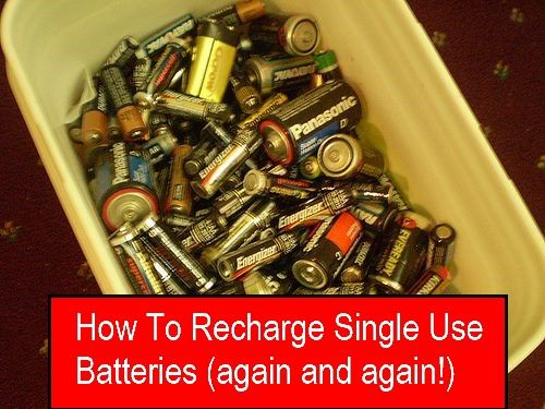 This Charger Can Recharge Disposable Batteries Learn More Save Money Helpful Hints Alkaline Battery Recharge